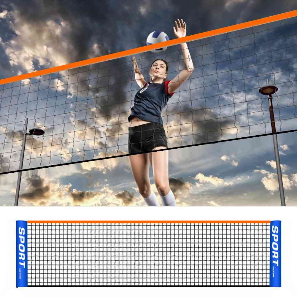 Portable Sports Training Net Frame For Beach Badminton/volleyball