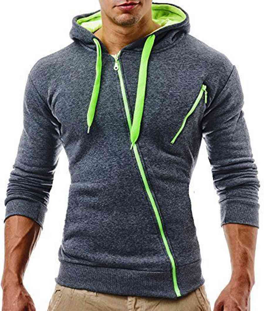 Zipper Slimming Running Jacket-sportwear