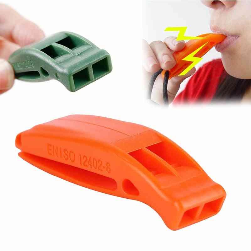 Whistle Tactical Survival Sentinel Hikes, Loud Plastic