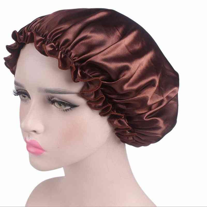 Elastic Hair Shower Cap, Loose & Tight Bands