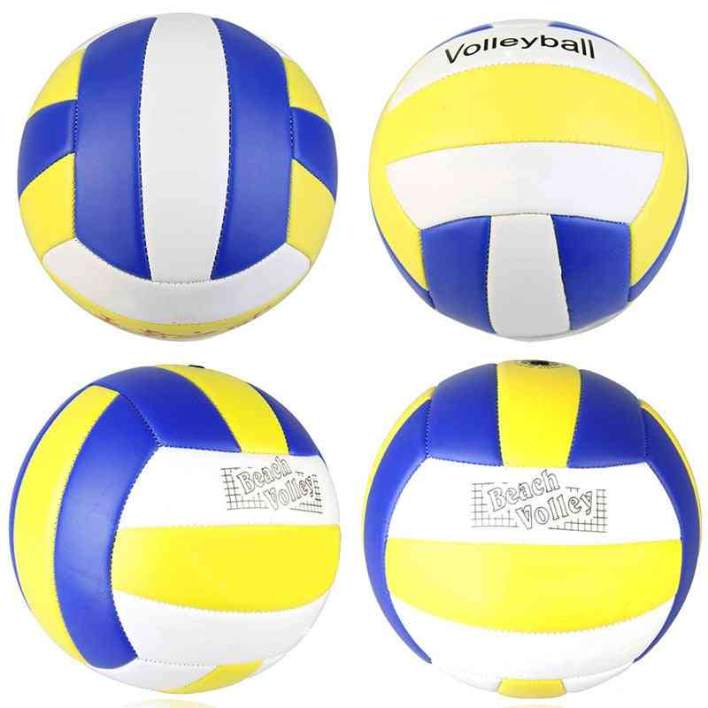 Indoor & Outdoor Training Soft Pu Leather Volleyball