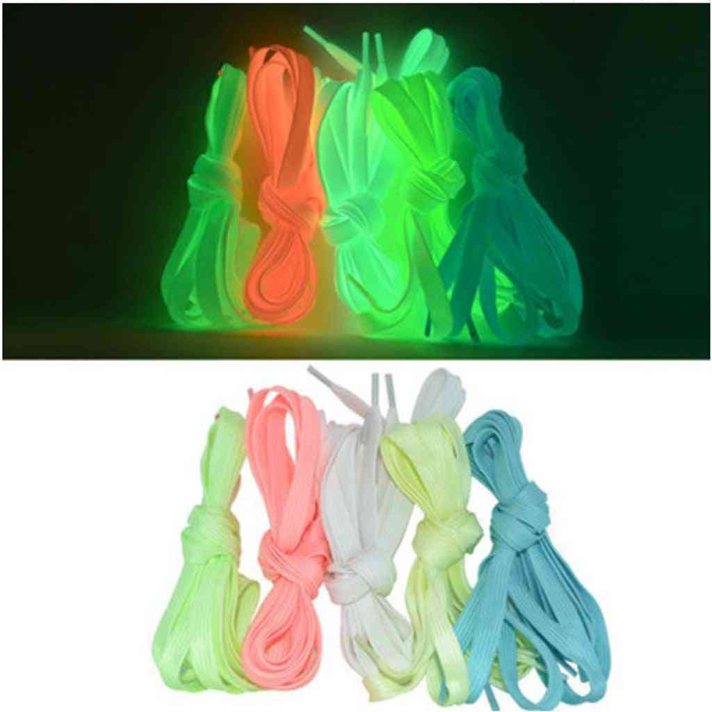 71 Inch Luminous Shoelace Fluorescent Design For Roller Ice Skates Boots Sports Shoes