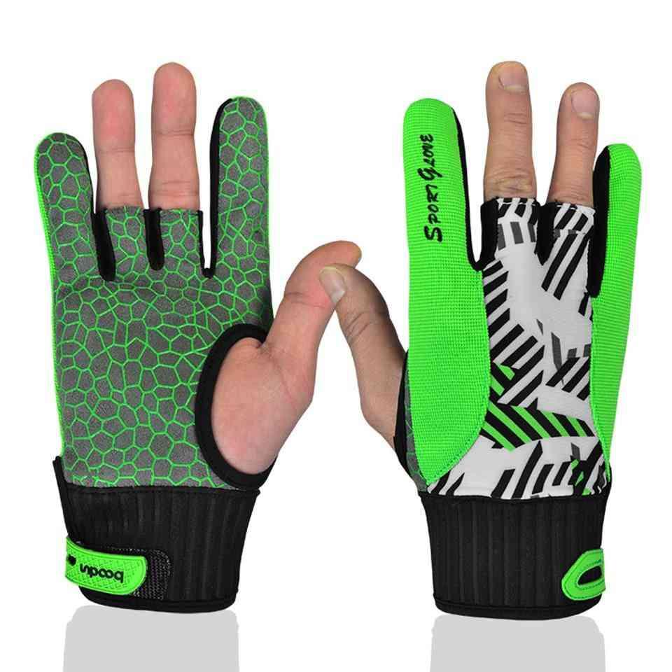 Men Women Bowling Glove For Left Right Hand