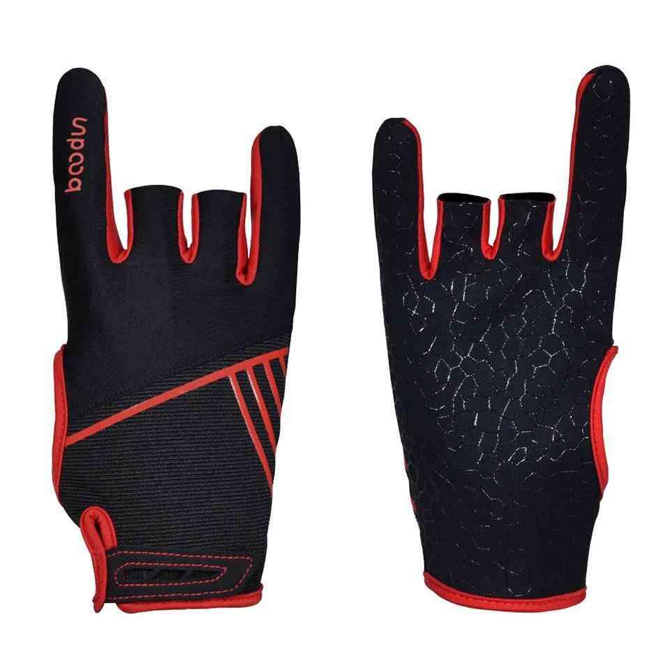 Men & Women Bowling Gloves, Anti-skid Soft Sports Accessories