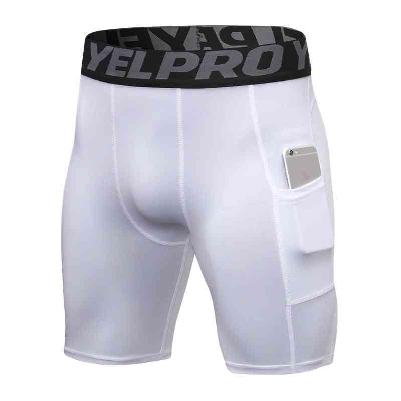 Men Quick Dry Short, Running Tights Men's Compression Shorts
