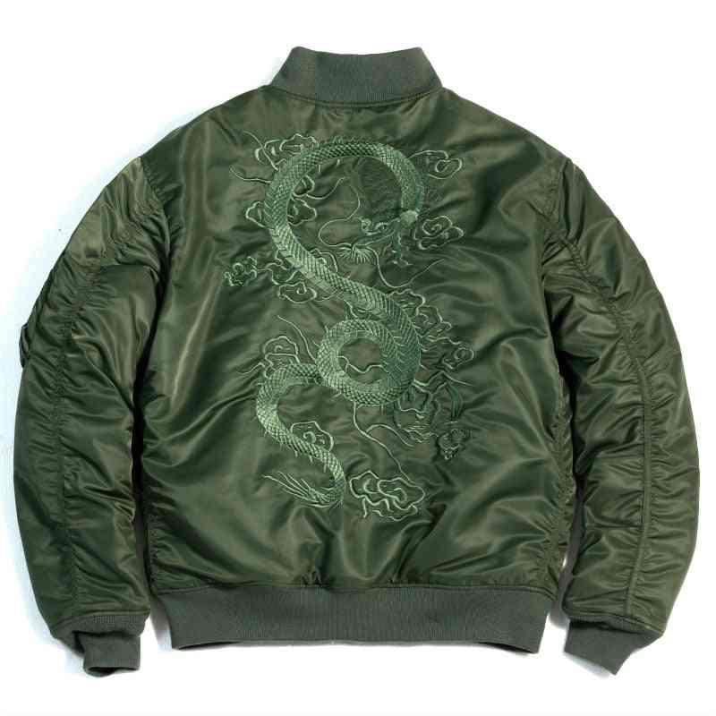 Flight Jacket, Men Thin Air Force Baseball Coat, Outwear Clothes