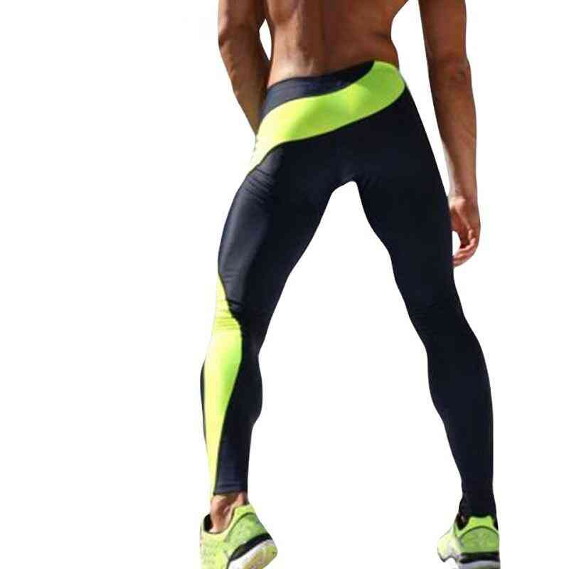 Running Tights Men Compression Fitness - Sports Jogging Long Yoga Athletic Pants