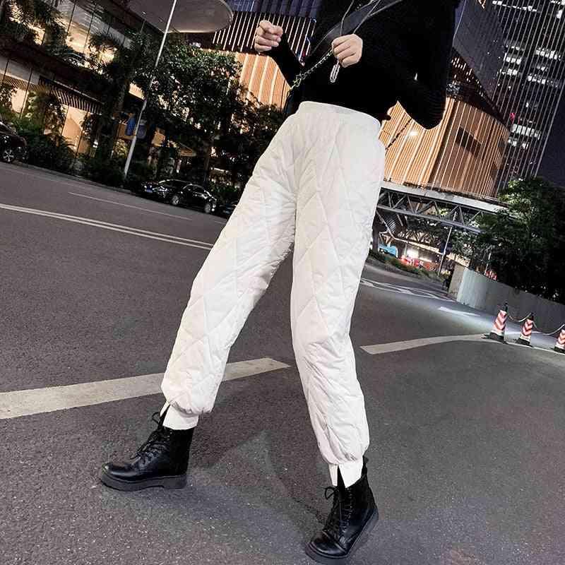 Snow Ski Pants, Cotton Down Pant Winter Streetwear