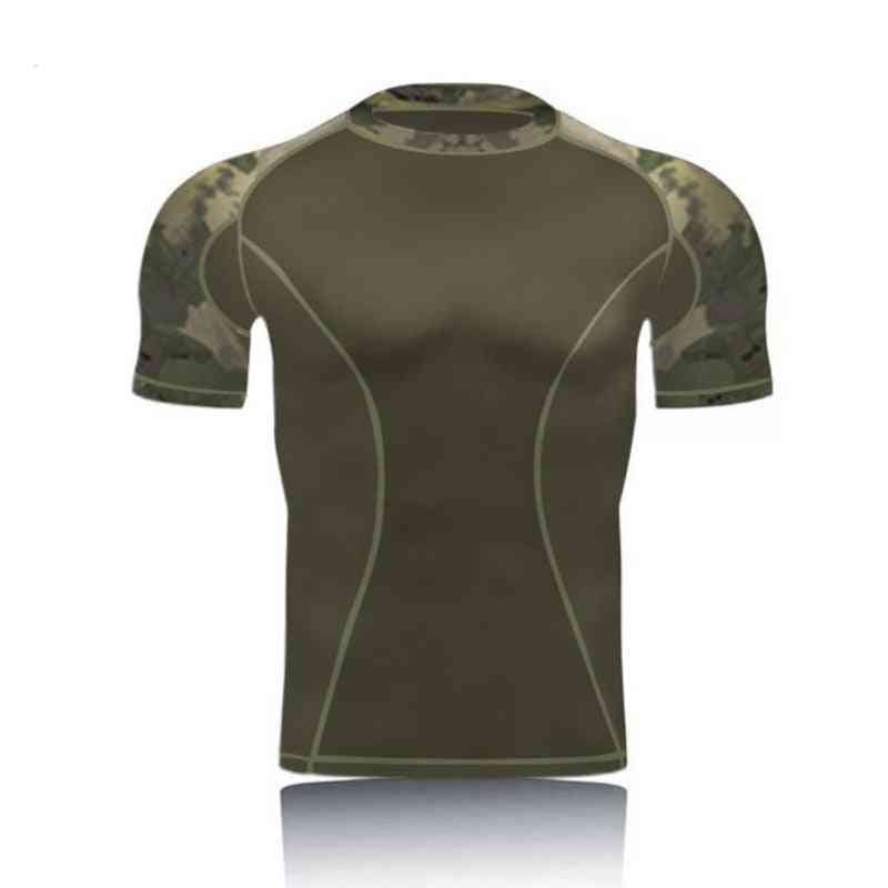 Amazing Military Camo Short Sleeve- Tactical Combat T Shirts
