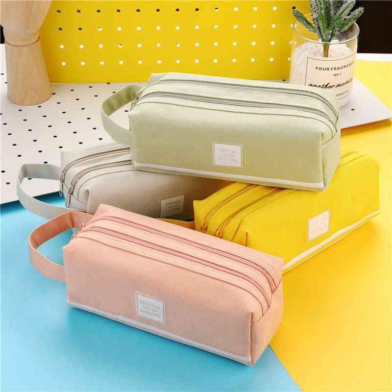 Pencil Cases, Fabric Pen Box For School & Office Stationary