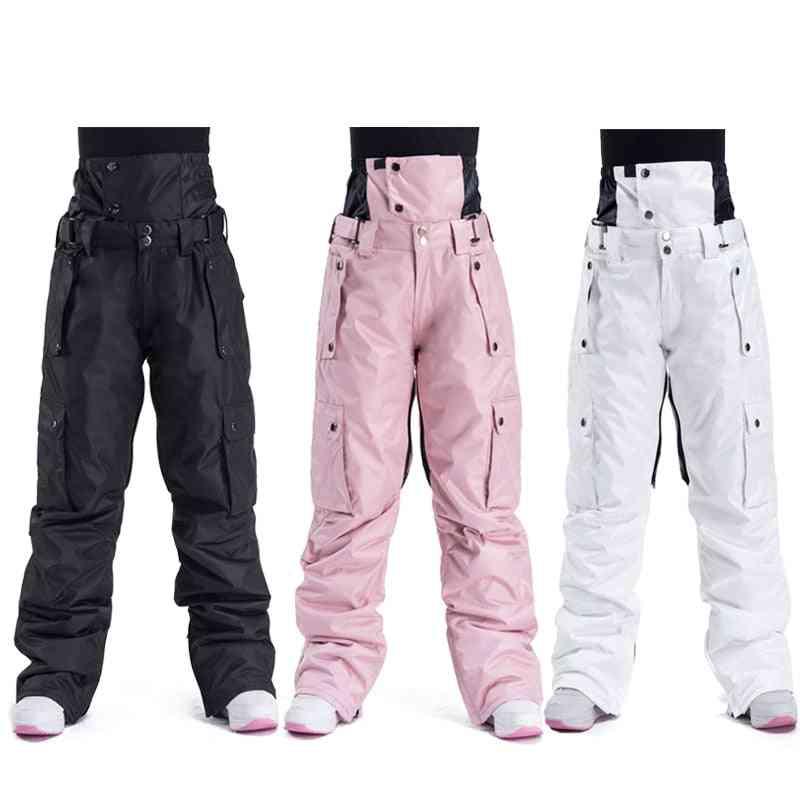 Ski Pants -unisex Windproof, Waterproof Snow Trousers