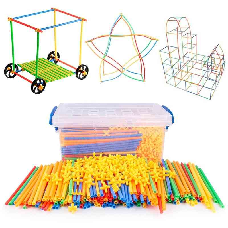 Children Tunnel Building Assemble Outdoor Game