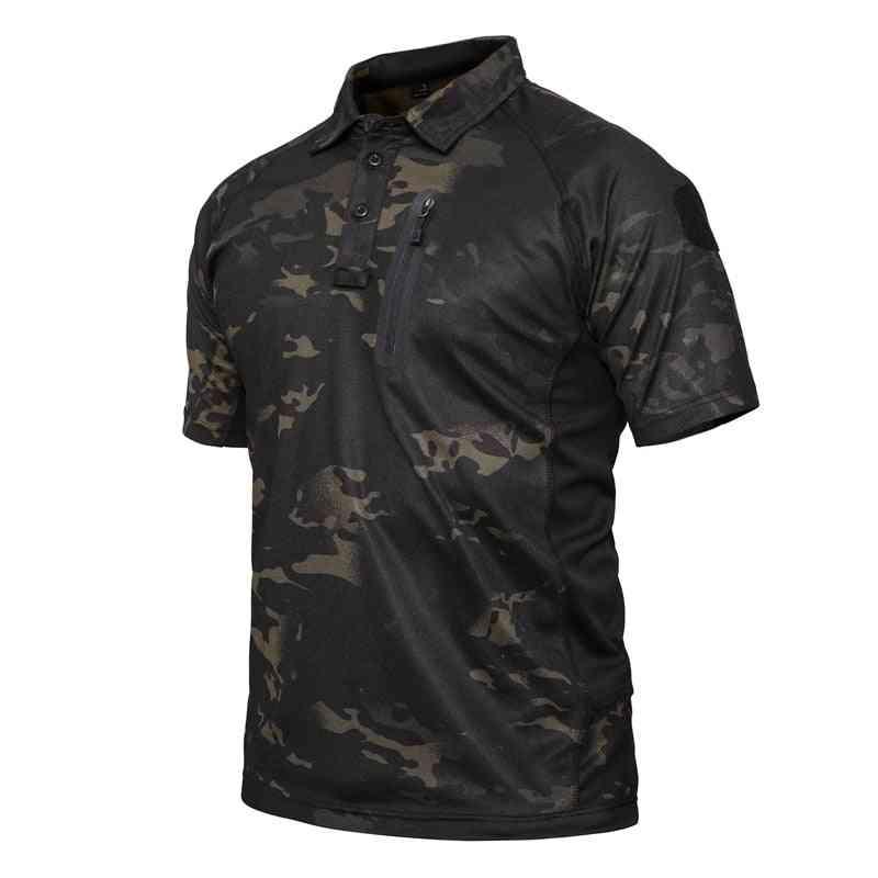 Quick Dry Tactical T-shirt Men