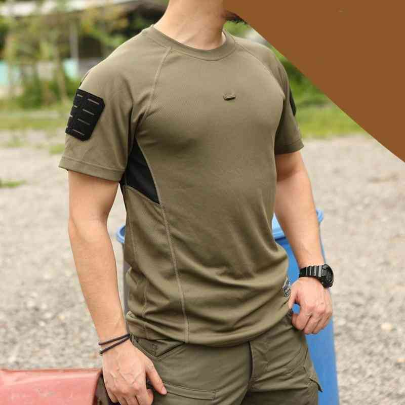 Mens T-shirts, Training Quick Dry Stretched Shirt