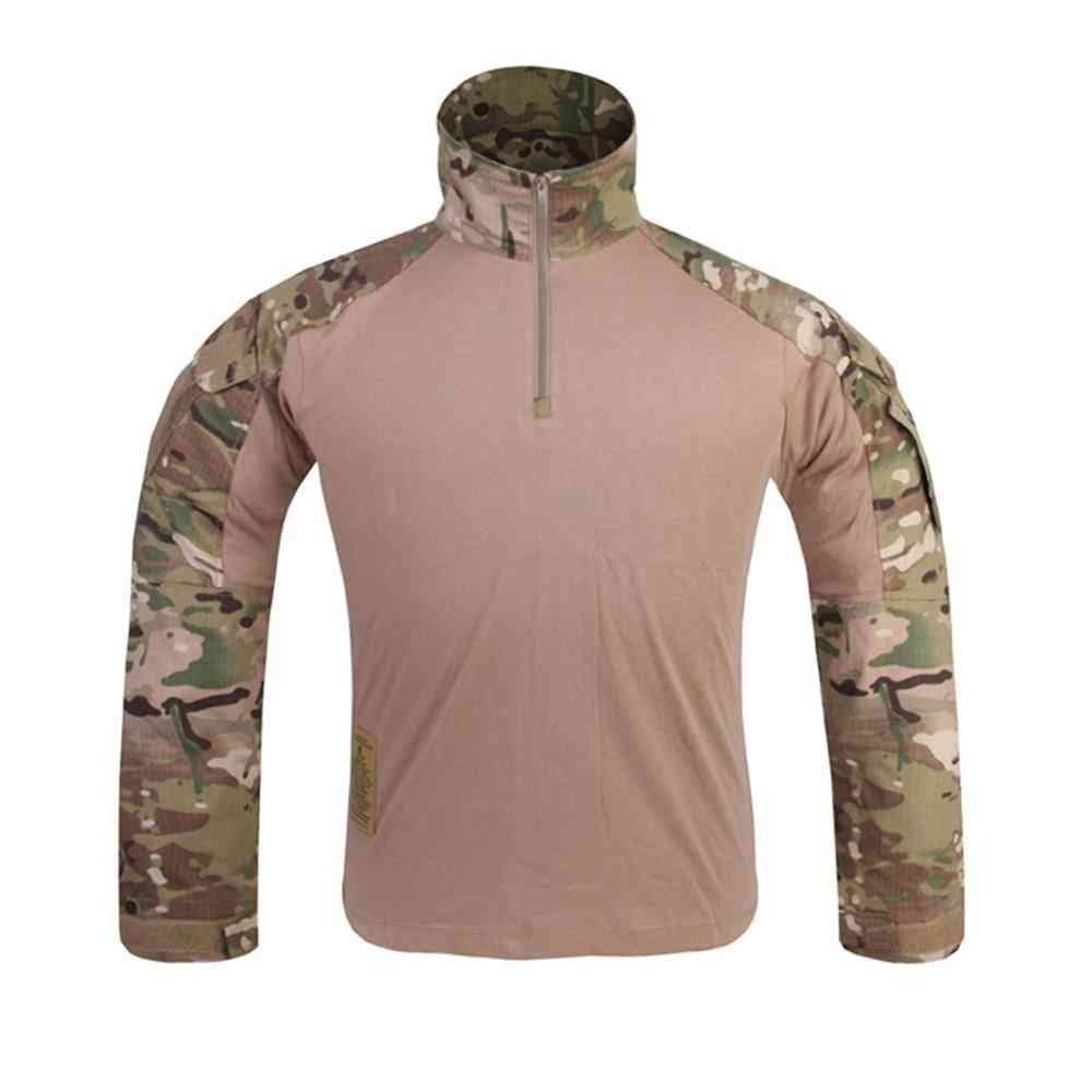 Military Multicam Combat Shirt Hunting Clothes