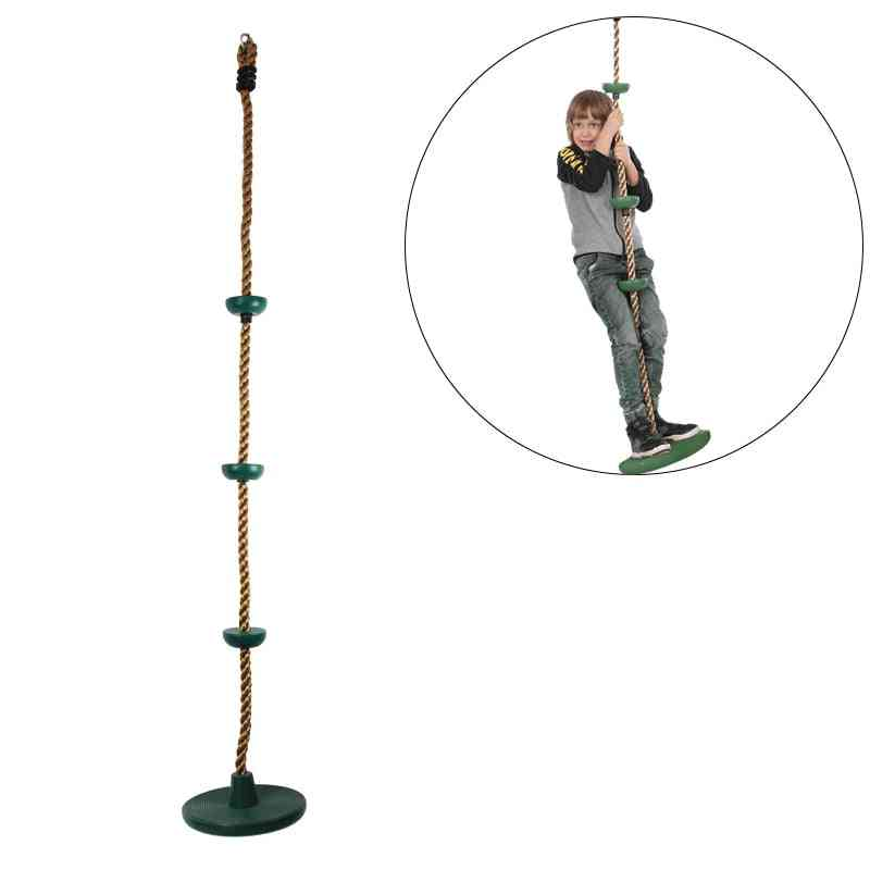 Disc Climbing Rope For  Kids Fitness