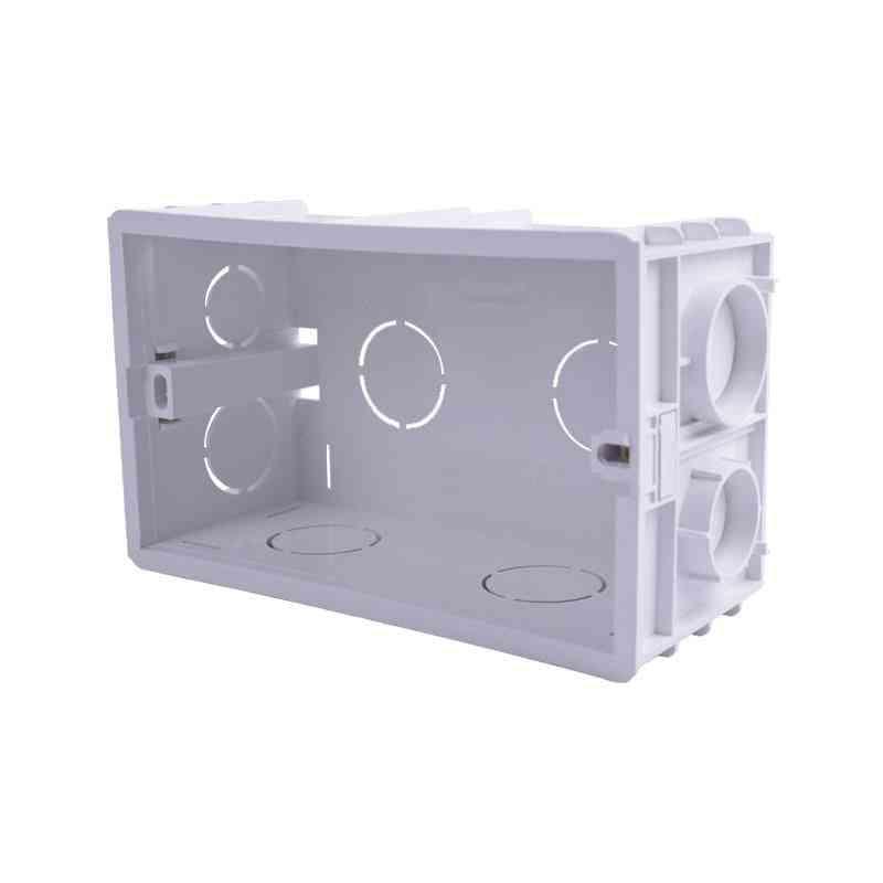 Wall Mounting Box Internal Cassette Standard Switch And Socket
