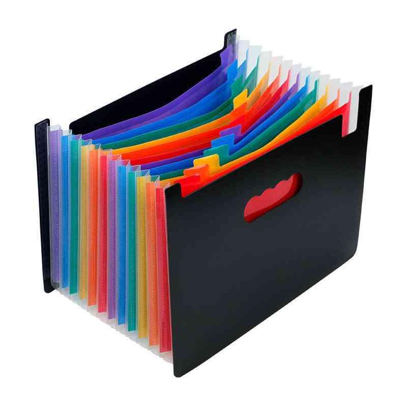 13/24 Pockets Expanding File Folder