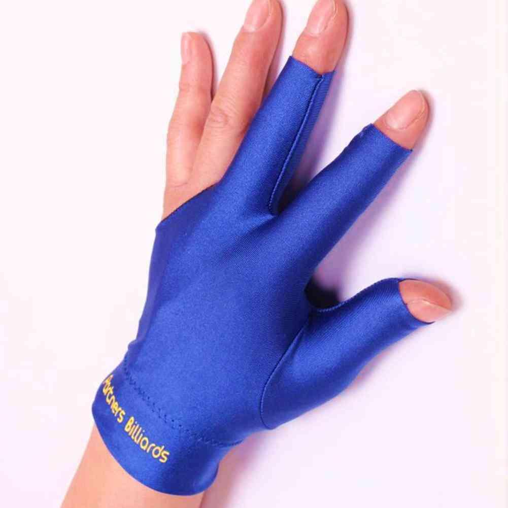 Snooker Special Billiard Three-finger Gloves