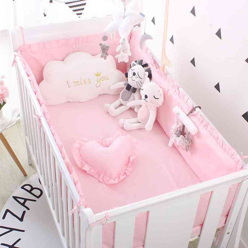 Cotton Baby Crib Bedding Set