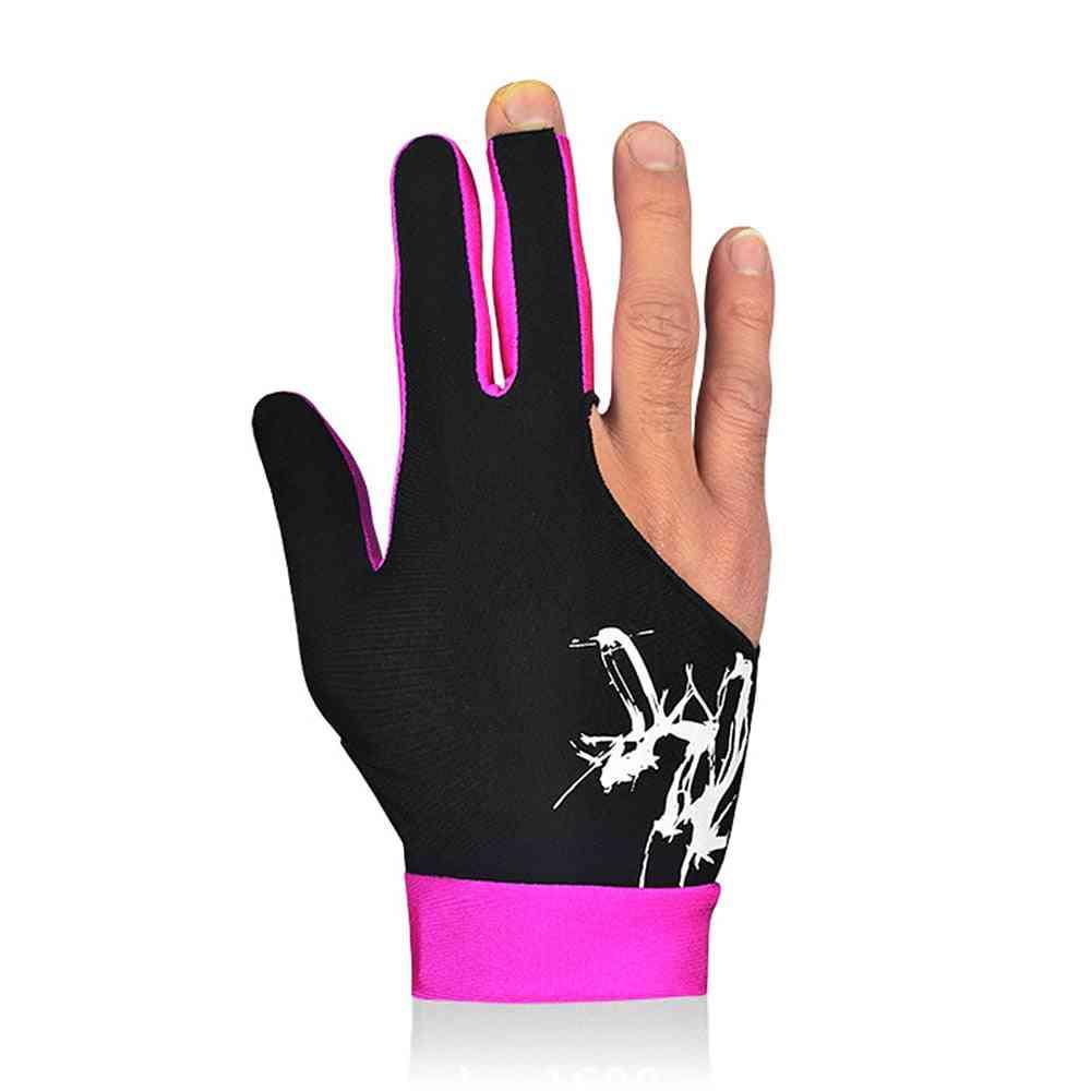 Billiard 3 Fingers Cue Sports Gloves & Women