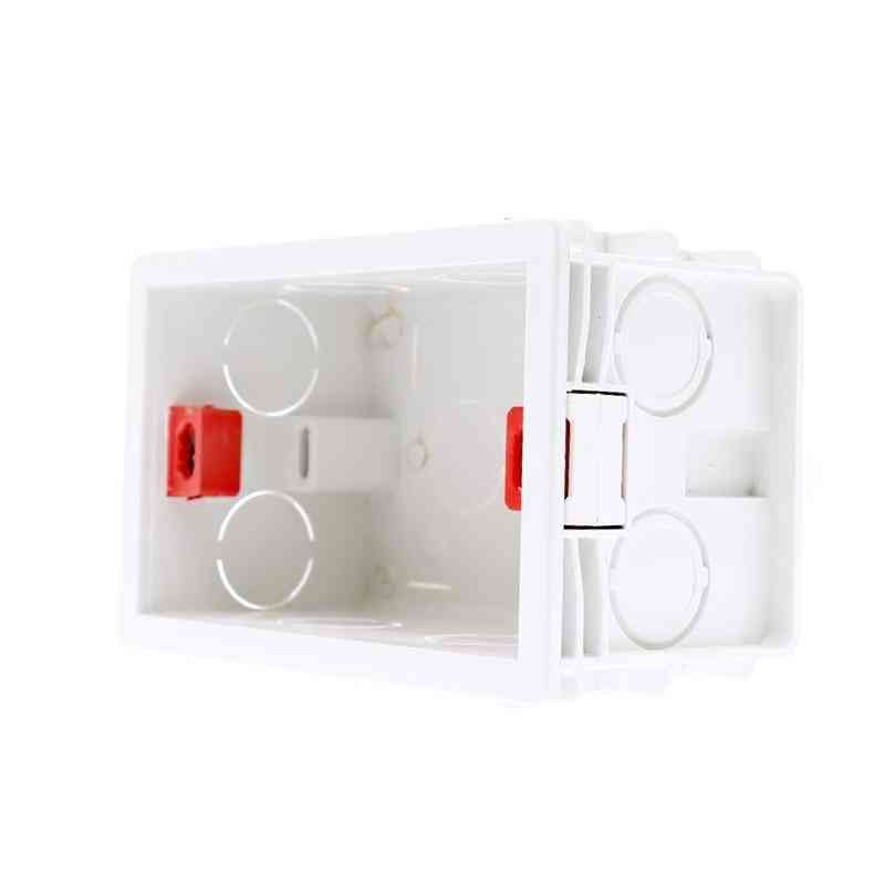 Us Standard Internal Mounting Box Back Cassette For Wall Touch Switch And Usb Socket
