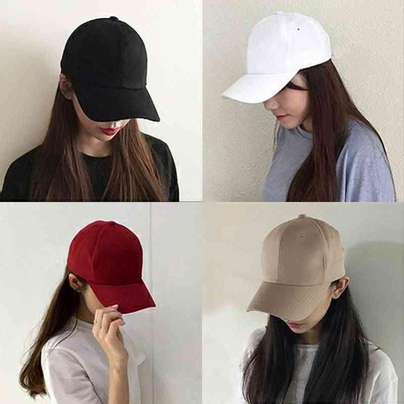 Summer & Autumn Fashion Solid Men / Women Baseball Hiphop Cap, Cool Sun Hat