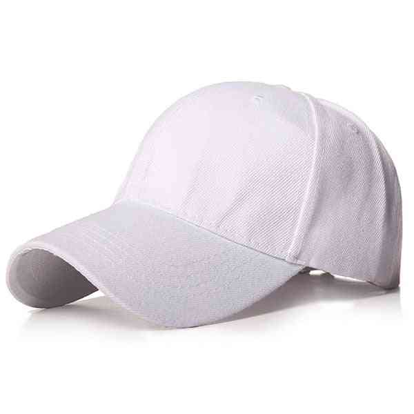 Plain Baseball Cap, Women & Men Snapback Classic Polo Style Hat