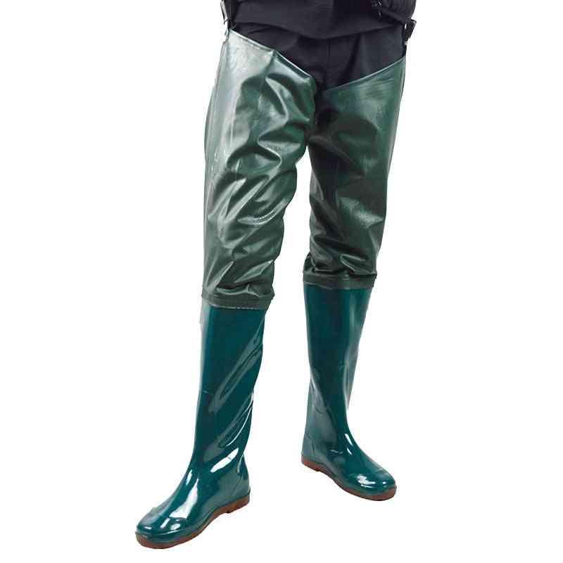 Men & Women's Waterproof Wading Pant, Pvc Underwater Outdoor Fishing Waders Pants
