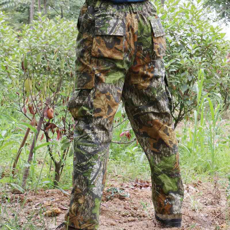 Military Tactical Pants, Bionic Wargame Ghillie Suit Long Trousers