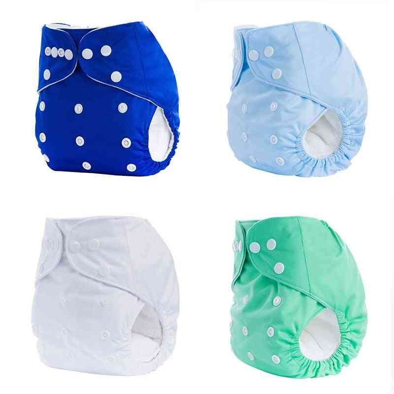 Baby & Gilrs Cloth Diapers, Reusable Nappy, Washable Soft Training Cover