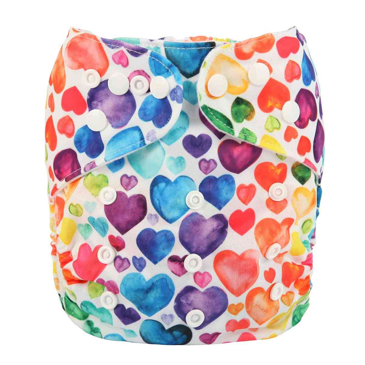 Baby Pocket Cloth Diaper, Nappy, Reusable Adjustable Washable Inner Cloth