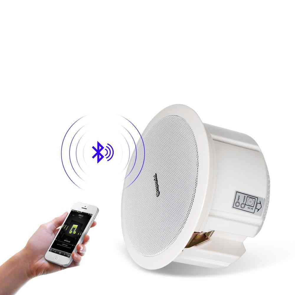 Home Bluetooth Ceiling Speakers In Wall, Loudspeakers System, Home Audio Mobile