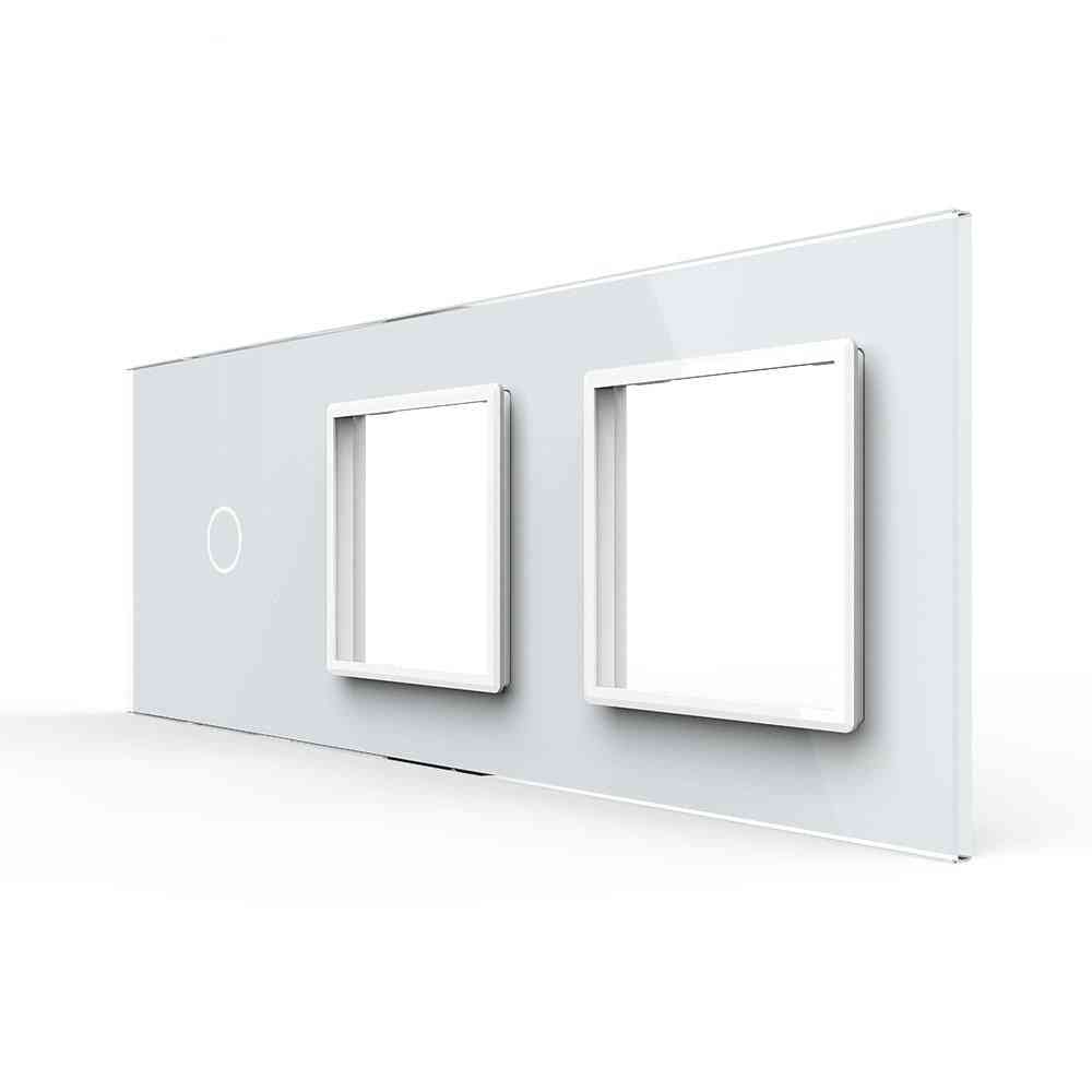 Luxury Pearl Crystal Glass, Eu Standard Panel