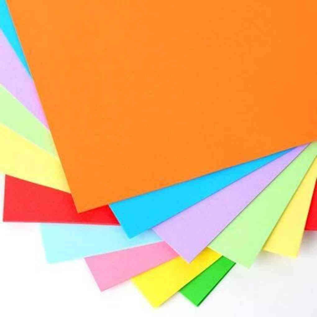 A4 Colored Copy Paper For Decoration/diy Art Craft