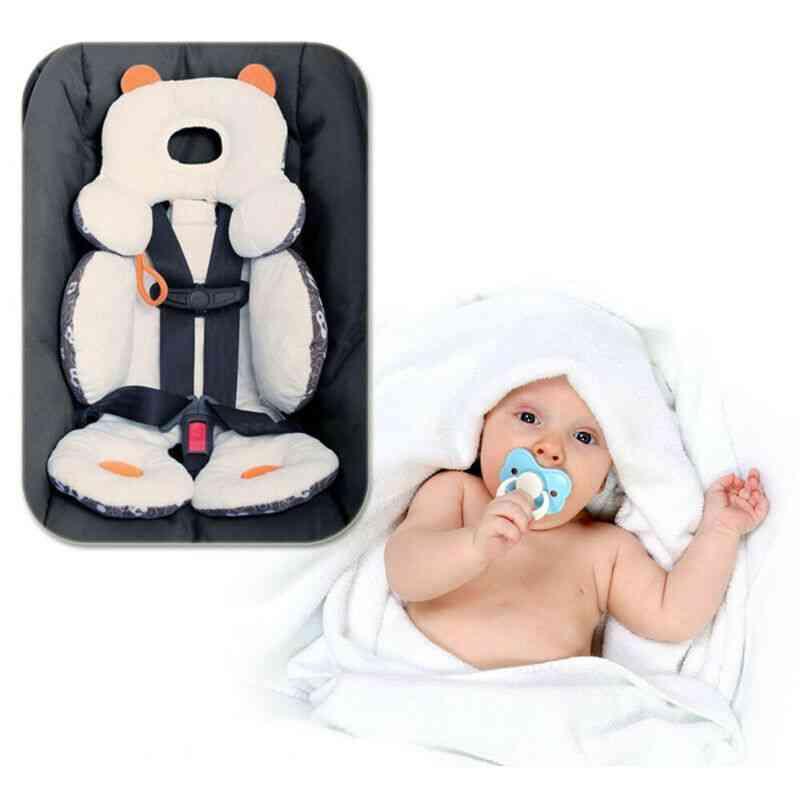 Adjustable Soft Cotton Cushion Seat, For Newborn Baby Stroller