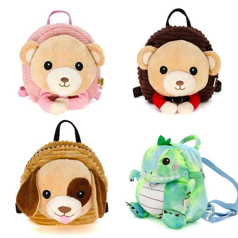 Anti-lost Baby Backpack, Cute Child Cartoon Plush With Traction Rope