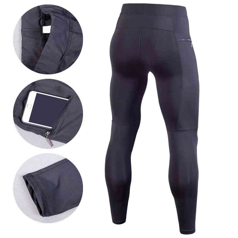 Men Compression Pant, Running Tights Fitness Gym, Yoag Trousers