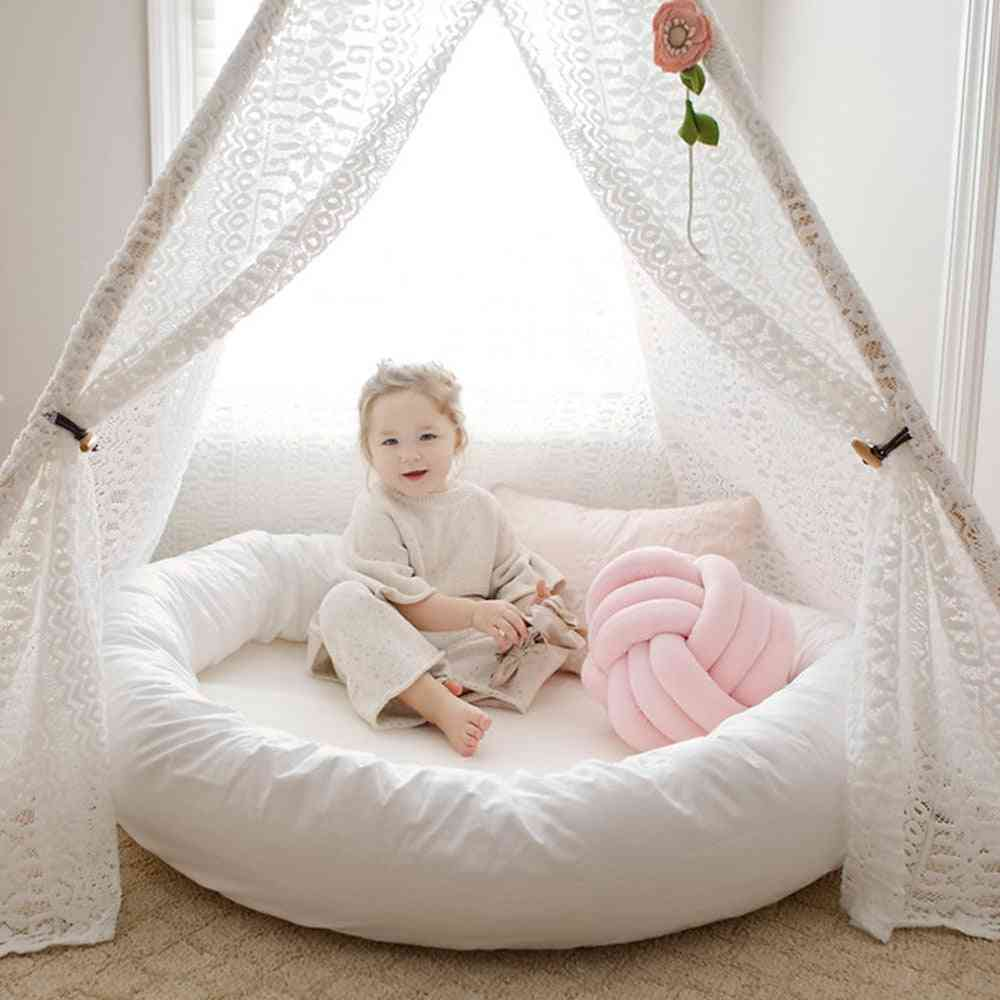 Large Round Shaped,  Baby Sleeping Nest Bed-nursery Play Mat