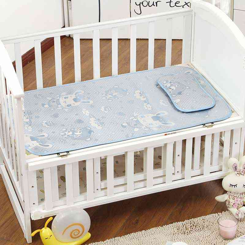 Baby Diaper Changing Mattress-cooling Mat With Pillow