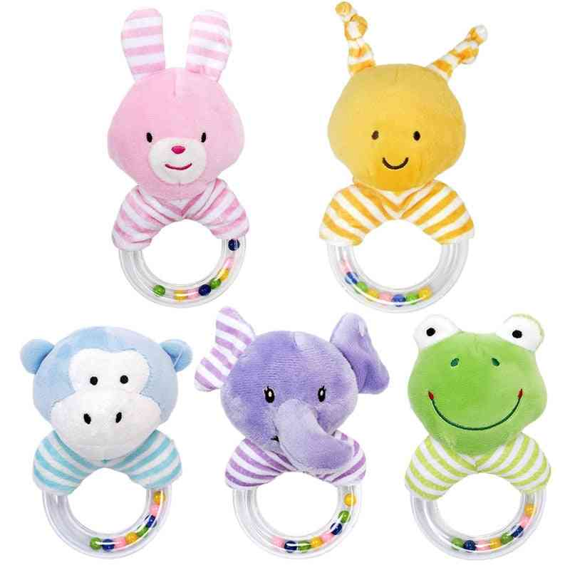 Rattles For Baby, Educational Developmental Hand Grip Cute Animals Frog