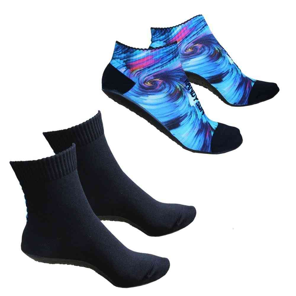Volleyball Beach Socks , 2 Pairs Seamless Quick-dry Suit Water Sports Yoga, Exercise, Shoes Socks