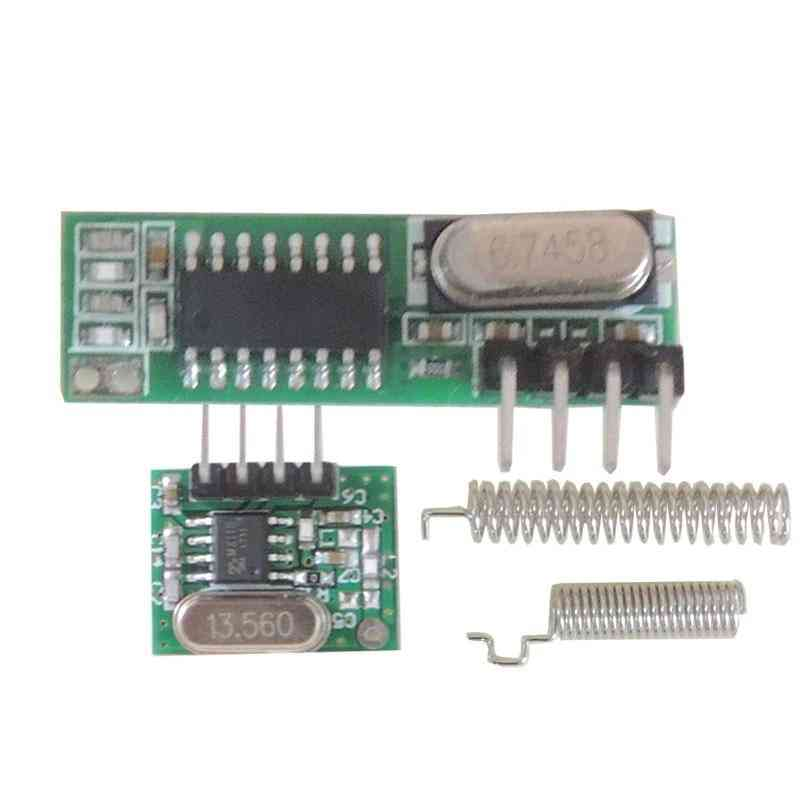 433mhz Rf Receiver And Transmitter, Remote Controls For Arduino Wireless Module