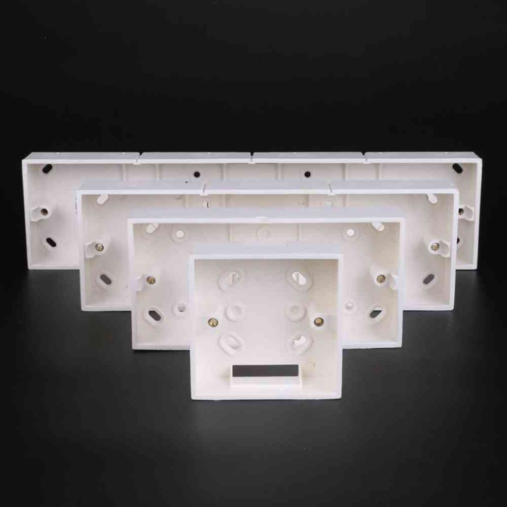 86 Type 2-4 Gang Switch Socket Base Outfit Junction Box