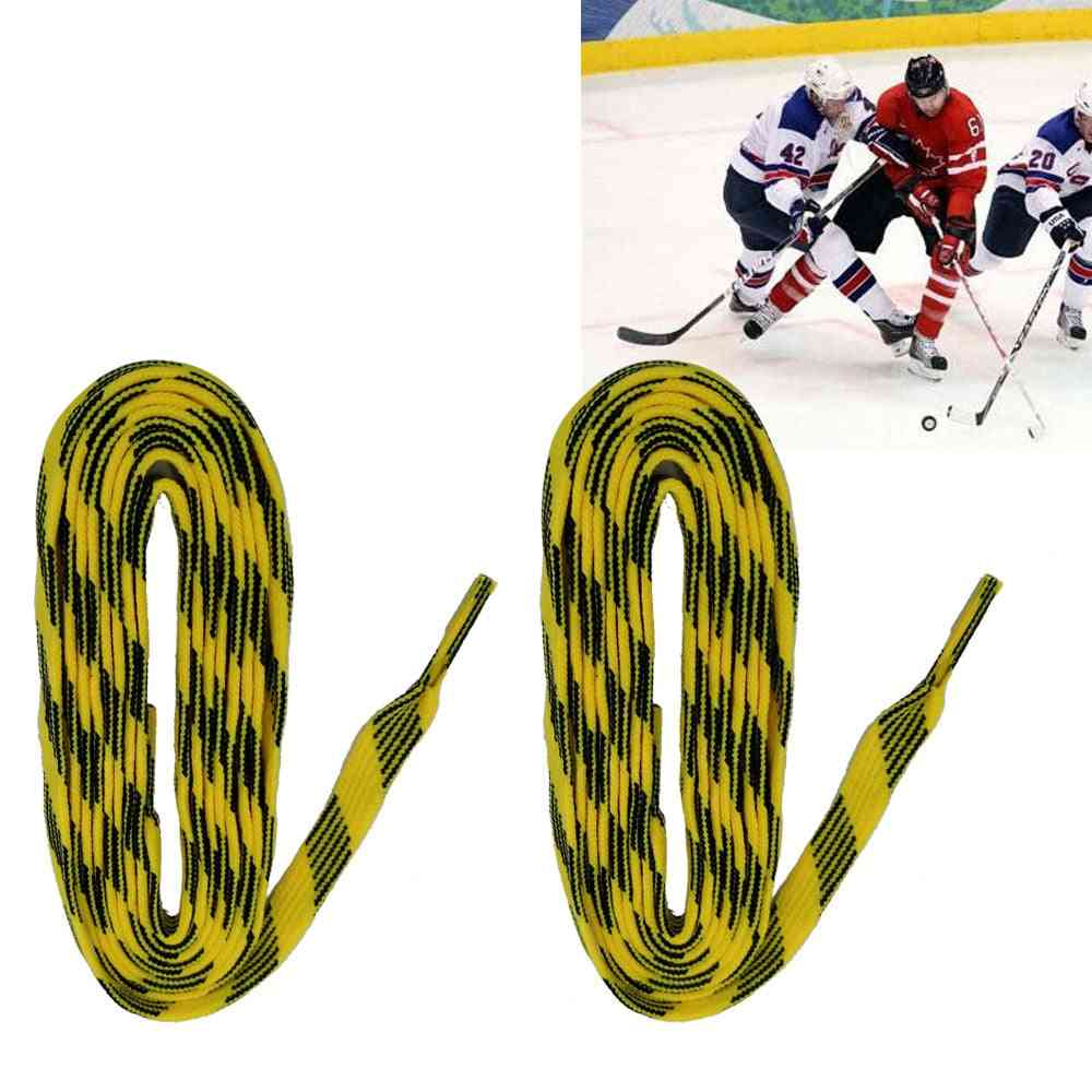 72/84/96 Inch Ice Hockey Shoe Laces, Roller Skates Boots Shoelaces