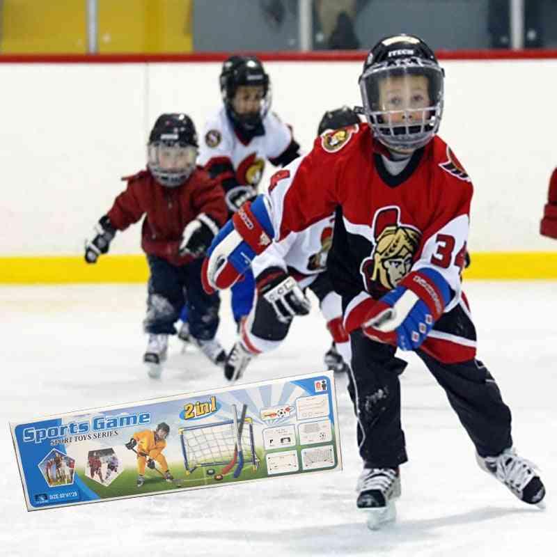 Mini Hockey Goal Set