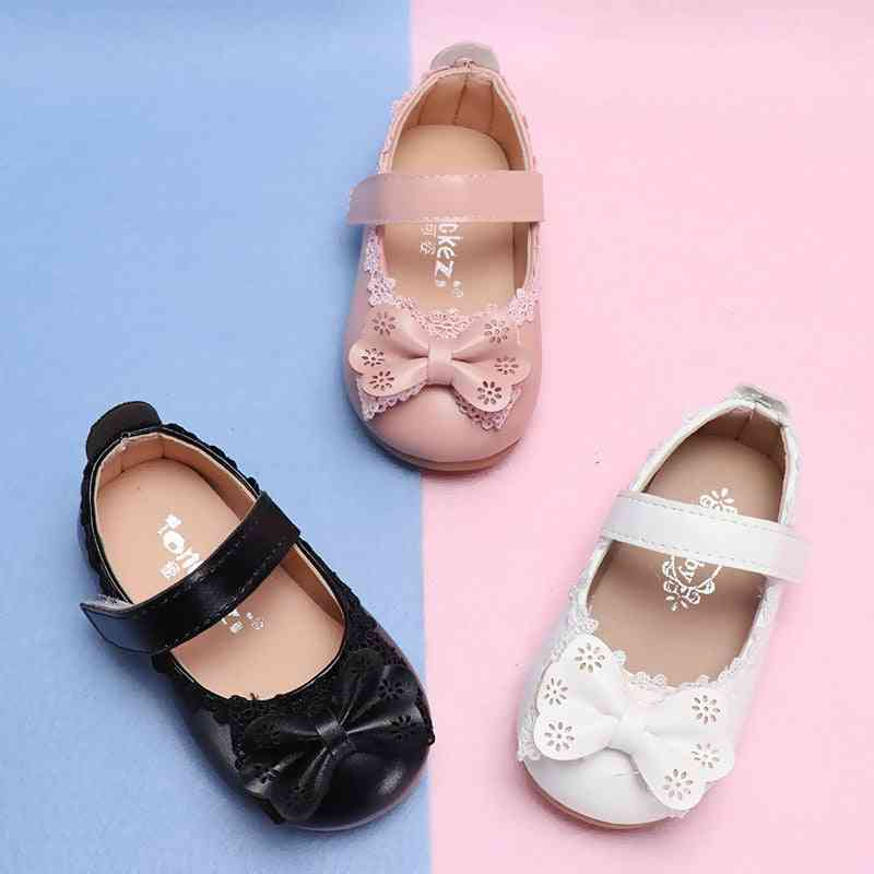 Girls Princess Non-slip Shoes, Bow Knot Sandals For