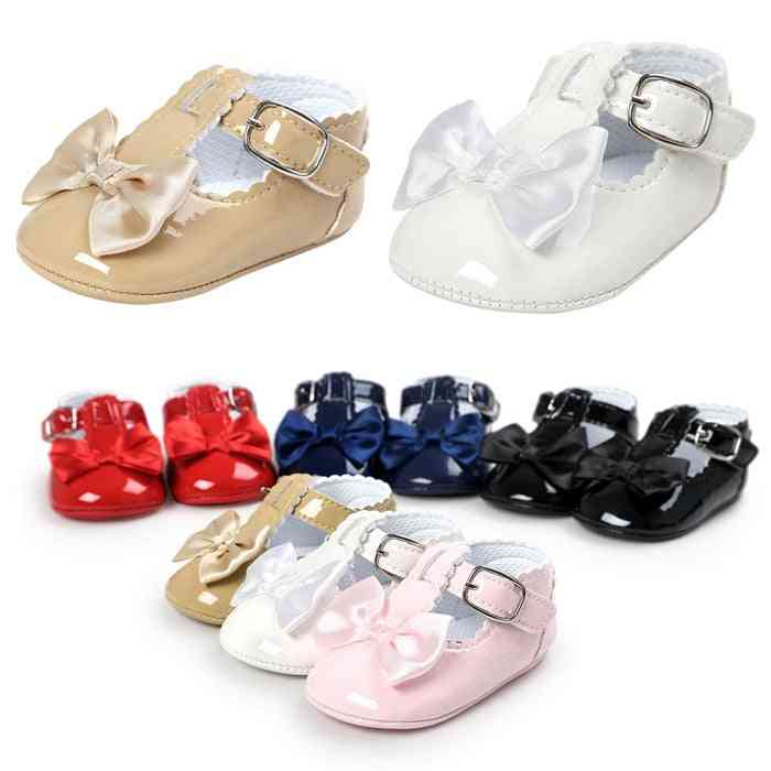 Pu Leather Girl & Boy First Walkers Shoes