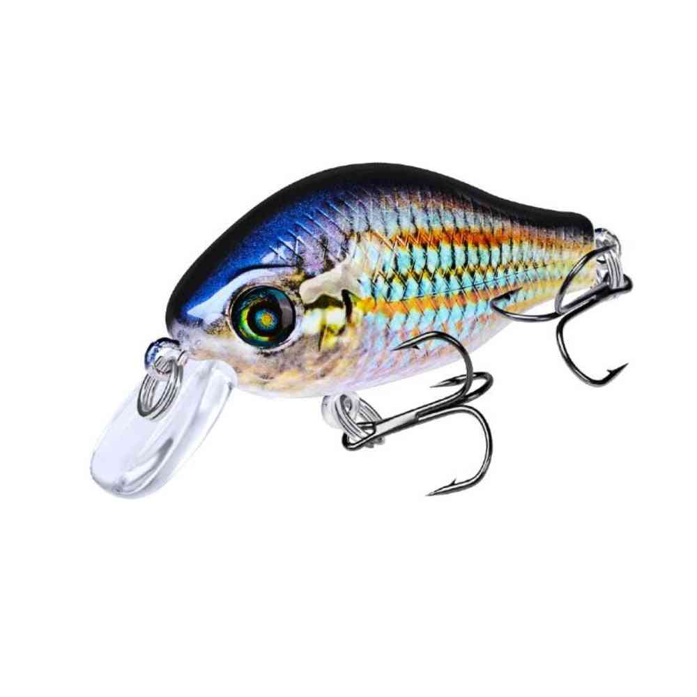 Fishing Lure, Floating Artificial Plastic Hard Bass Pike Tackle