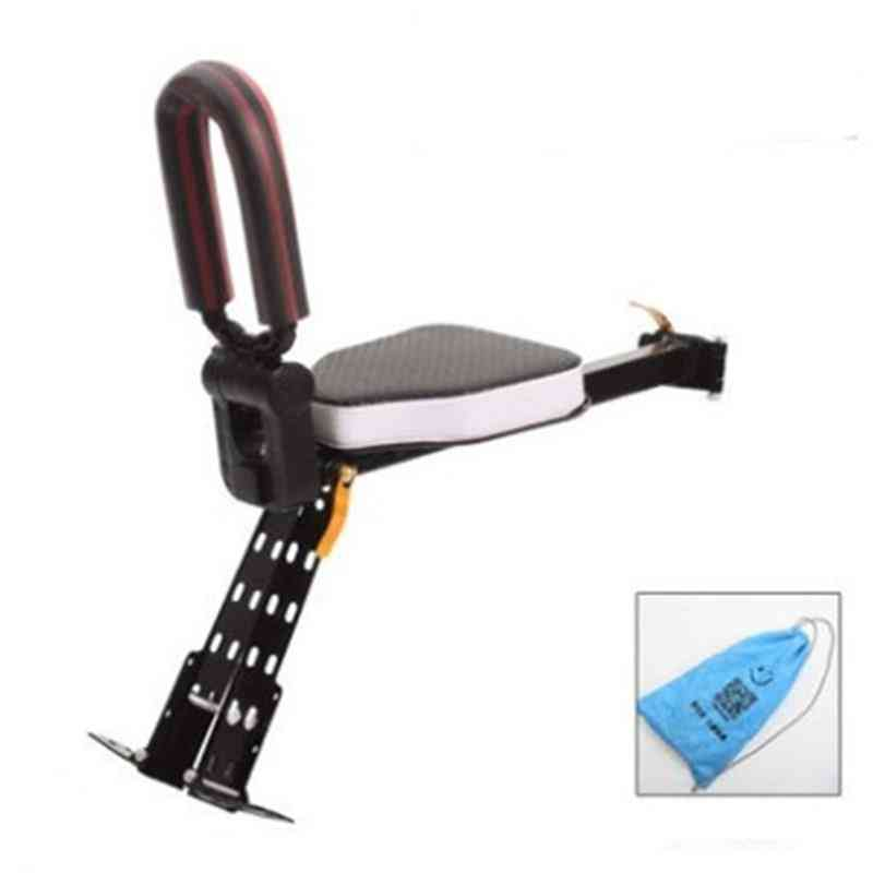 Front Portable Quick Release Mountain Bike, Baby Safety Bicycle Seat